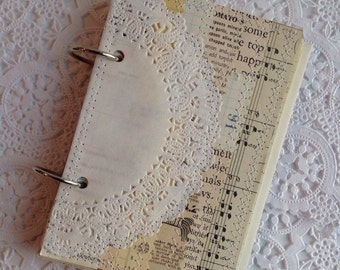 Journal, Junk Journal, Smash Book, Vintage Junk Journal, Handmade Journal, Art Journal, Vintage Paper Journal, Children''s  Book Journal
