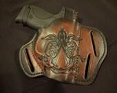 Custom handmade Assassin's Creed Ruger GP100 holster for Kayla
