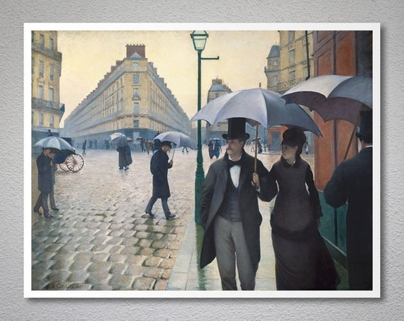 gustave callebotte paris street rainy day world essay Gustave callebotte, paris street rainy day, the world essay gustave callebotte was the first impressionist that painted realistic, photo paintings.