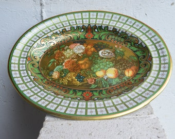 Daher Decorated Platter/Made in England