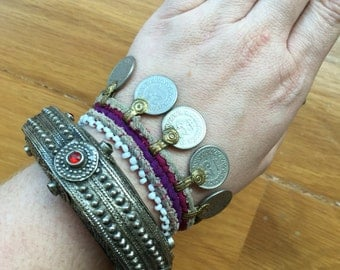 Aghani cuff bracelet