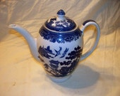 """Vintage Wedgwood - """"Willow"""" - Coffee Pot"""