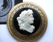 FREE U.S. Shipping* GWTW Gone with the Wind Cameo Brooch Pin Replica  Rare 1940 Lux Soap Premium