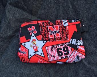 Nebraska Wristlet/Coin purse 2