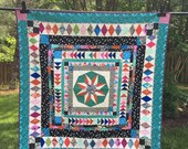 Modified Marcelle Medallion Quilt