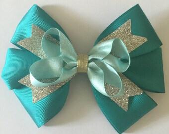 Disney princess Brave or Jasmin inspired hair bow