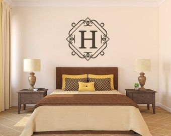 Monogram Wall Art painted wooden monogram wall hanging monogram nursery