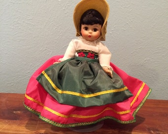 Vintage Madame Alexander Italy Doll