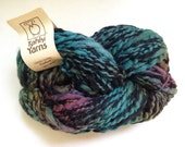 50% Off Tahki Cortina Hand Dyed Wool Bulky Thick Thin Rainbow  Handspun 108 Yards