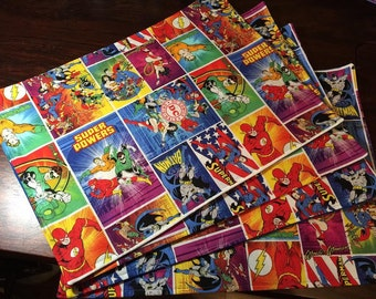 Super Hero Placemats