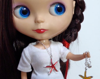 StarFish / Sea Star Necklace for your Mermaid BlytheStar