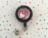ID Badge clip - Registered Nurse kitty