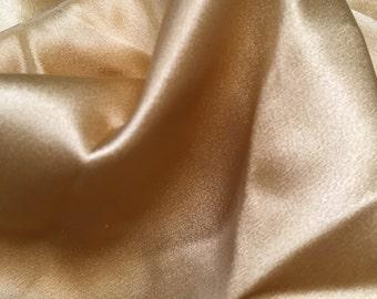 100% Silk - Sandy Beige