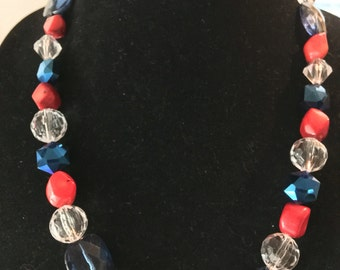 Patriotic Necklace.