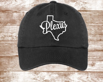Texas Plexus Hat -Texas Outline Hat - State Of Texas  - Ladies and Men's Plexus Hat- Plexus Swag - Plexus Approved Clothing - Plexus Apparel