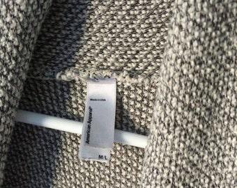 oversized cardigan / American Apparel