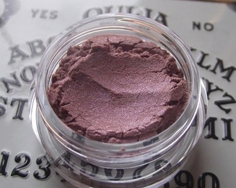 Beyond the Veil - Pastel Rose Pink with Blue Shimmer Sheen Eyeshadow