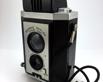 Kodak Brownie Reflex Syncro Model film camera