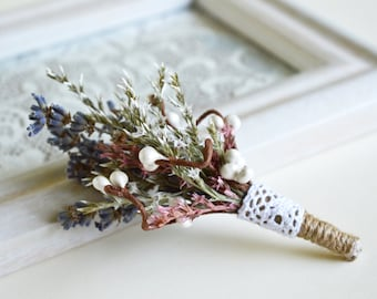 Rustic Boutonniere, Rustic wedding buttonhole, Groom lapel pin, Best man boutonniere, Country wedding, Dried grass boutonniere, Barn wedding