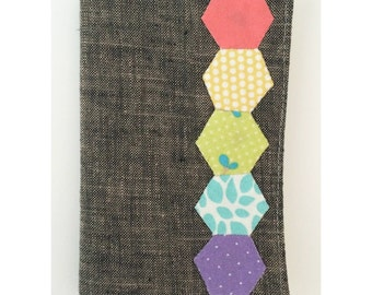 Rainbow Hexagon Needle Book