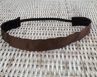 Womens Brown Headband - Girls Sports Headband