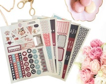Planner Stickers, Beautiful, Full Weekly Kit, ECP, Deluxe Weekly Kit
