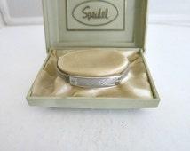Women's ID Bracelet Silver Tone Mesh Band Speidel NOS