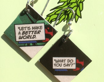 Make a Better World Earrings
