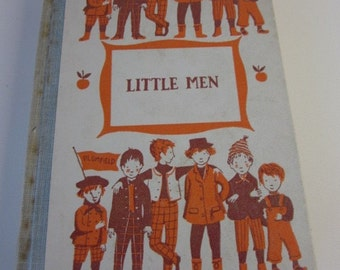 Little Men-Vintage Book by Louisa May Alcott-1955