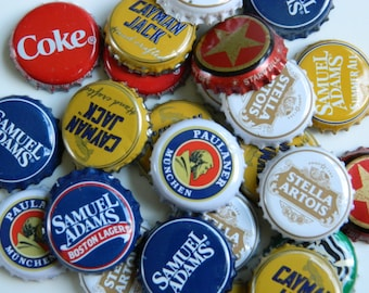 20 Assorted Beer and Soda Bottle Caps