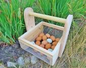Egg Basket Berry Hod Garden Tote Harvest Basket