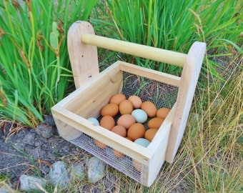 Egg Basket Berry Hod Garden Tote Harvest Basket