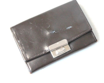 brown leather wallet for him