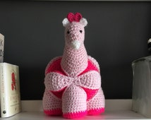 Giraffe Amigurumi Amish Puzzle