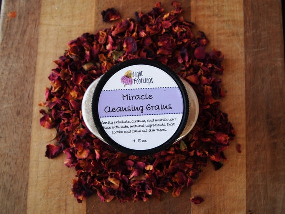 SALE - Miracle Cleansing Grains - Herbal Face Care - Food for Your Face!