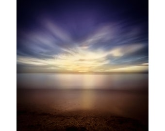 Pinhole Photography, Beach photography, Abstract Photo, Gods Everyday Painting, Large Wall Art, Fine Art Photography