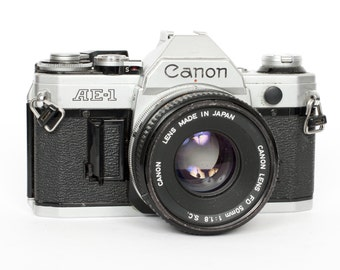 Canon AE-1 with 50mm f/1.8