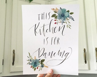 Kitchen Wall Art, Kitchen Decor, Kitchen Painting