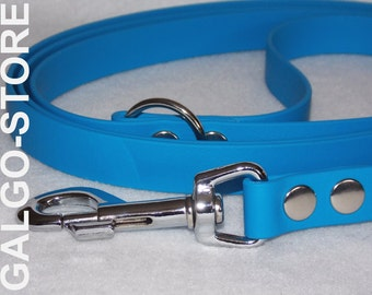 "handmade dog leash, Biothane®, 3/4"", various lenghts and many colors, dog lead, matching leash"