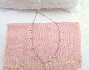 Crystal Necklace / women's jewelry / teen jewelry / women
