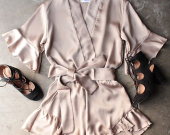 Silky romper - new with tags