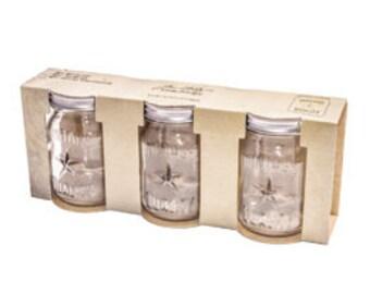 Tim Holtz Idea-ology Mini Mason Jars TH93202