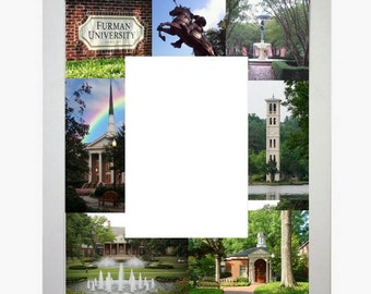 Furman Picture Frame Photo Mat Personalized Unique Gift School Graduation