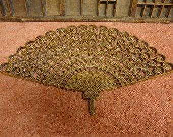 Ornate Burwood Fan Wall Plaque