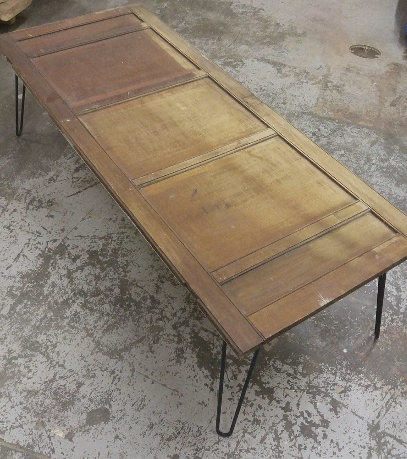Reclaimed Old Cottage Door Coffee Table
