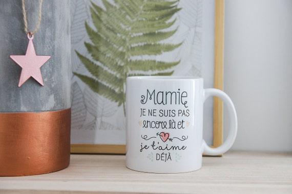 le mug pour future mamie annonce grossesse bonne par creabisontine. Black Bedroom Furniture Sets. Home Design Ideas