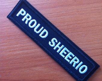 Proud Sheerio Patch 10x2 cm