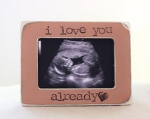 Ultrasound Picture Frame Personalized GIFT for New Mom Ultrasound Photo Keepsake Baby Shower Gift New Baby Gift Neice Nephew Gift