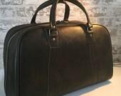 Vintage Avacodo Overnight Bag