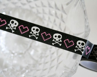 Love Skull Washi Tape